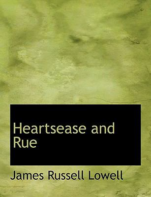 Heartsease and Rue  N/A 9781115577670 Front Cover