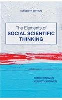 Elements of Social Scientific Thinking  11th 2014 edition cover