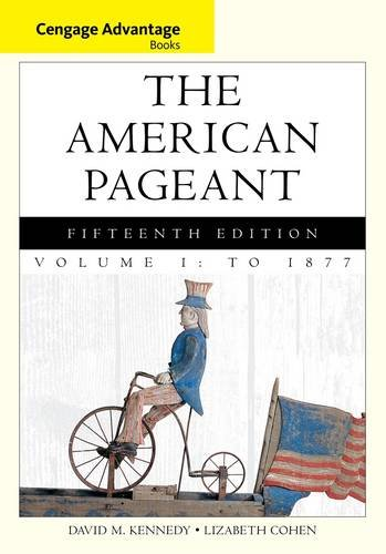American Pageant to 1877  15th 2014 edition cover