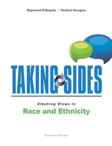 Taking Sides Clashing Views in Race and Ethnicity:   2016 9781259677670 Front Cover
