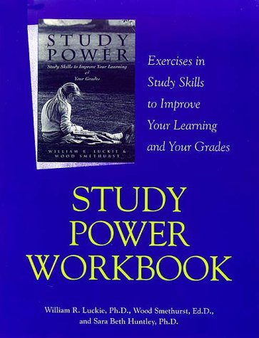 Study Power Workbook Techniques to Maximize Your Time When Studying N/A edition cover
