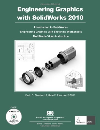 Engineering Graphics with SolidWorks 2010 and Multimedia CD  N/A edition cover