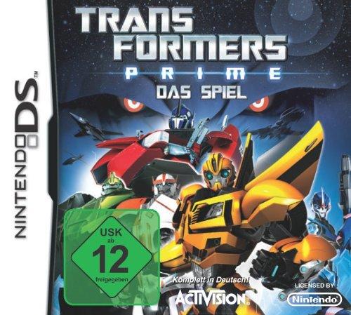 Transformers Prime Nintendo DS artwork