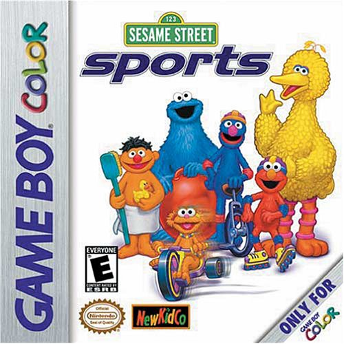 Sesame Street Sports Game Boy Color artwork