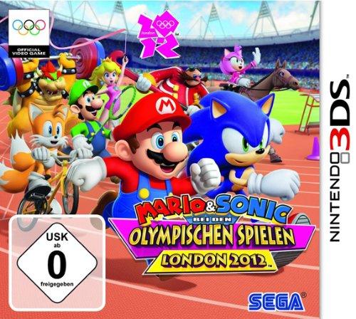 Mario & Sonic bei den Olympischen Spielen: London 2012 Nintendo 3DS artwork