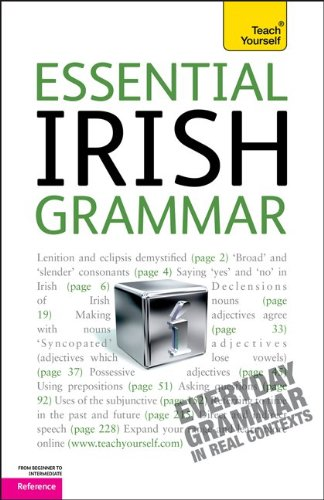 Essential Irish Grammar  2nd 2011 edition cover