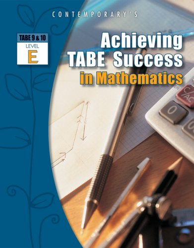 Achieving Tabe Success in Mathematics   2006 edition cover