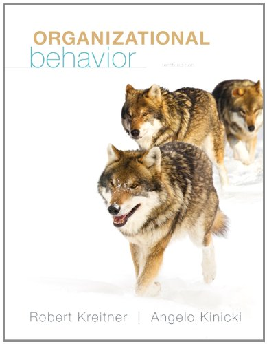 Loose-Leaf Organizational Behavior  10th 2013 edition cover