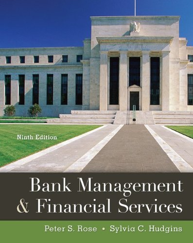 Bank Management and Financial Services  9th 2013 9780078034671 Front Cover