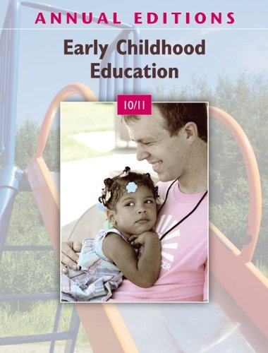 Early Childhood Education 10/11  31st 2011 edition cover