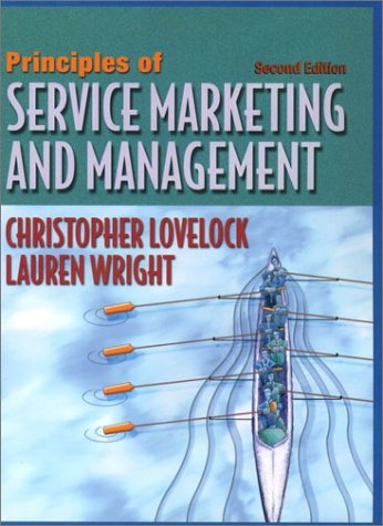 Principles of Service Marketing and Management  2nd 2002 edition cover