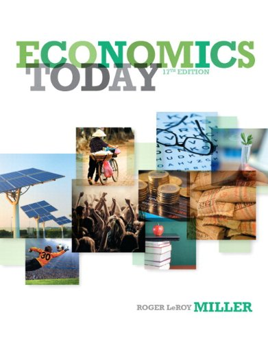 Economics Today Plus NEW MyEconLab with Pearson EText -- Access Card Package  17th 2014 edition cover