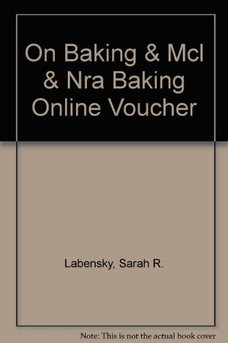 On Baking and MCL and NRA Baking Online Voucher   2014 9780133461671 Front Cover