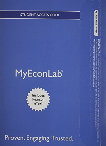NEW MyEconLab with Pearson EText -- Access Card -- for Introduction to Econometrics  3rd 2015 edition cover
