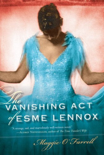 Vanishing Act of Esme Lennox  N/A edition cover