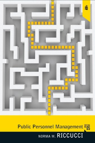 Public Personnel Management Current Concerns, Future Problems 5th 2011 (Revised) edition cover