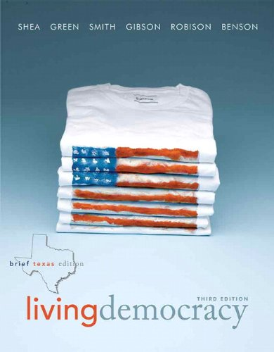 Living Democracy  3rd 2011 9780205827671 Front Cover