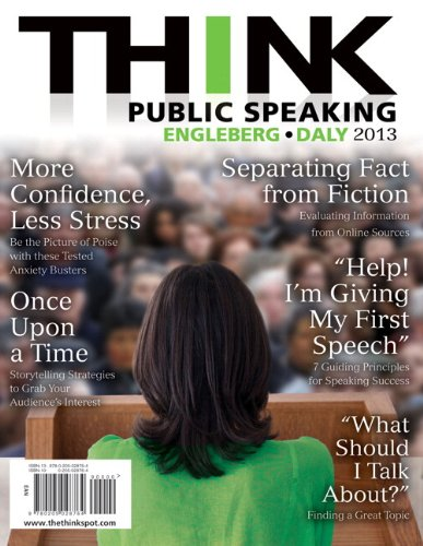 Public Speaking   2013 edition cover