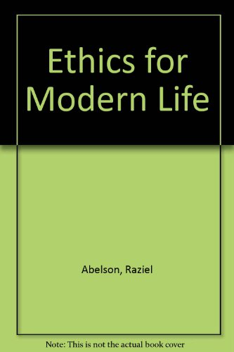 Ethics for Modern Life 5th 1995 edition cover