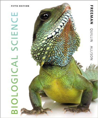 Biological Science  5th 2014 9780321743671 Front Cover