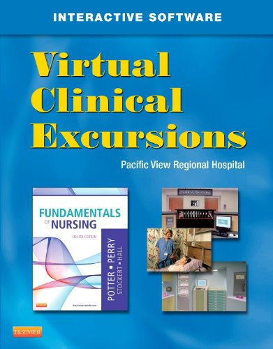 Virtual Clinical Excursions 3. 0 for Fundamentals of Nursing  8th 2012 edition cover