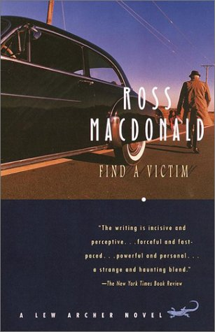 Find a Victim A Lew Archer Novel  2001 edition cover