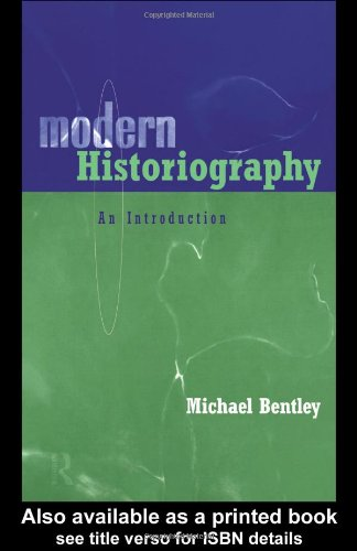 Modern Historiography An Introduction  1998 edition cover