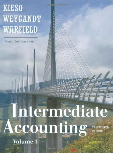 Intermediate Accounting  13th 2010 9780470467671 Front Cover