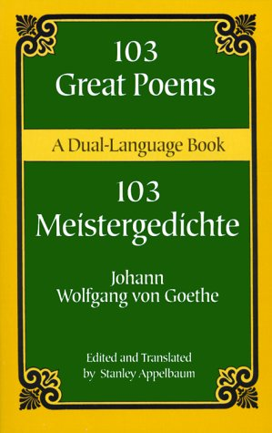 103 Great Poems A Dual-Language Book N/A edition cover
