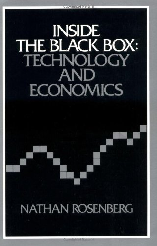 Inside the Black Box Technology and Economics  1982 9780521273671 Front Cover
