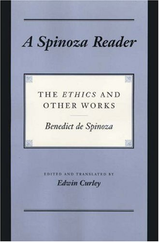 Spinoza Reader The Ethics and Other Works  1994 edition cover