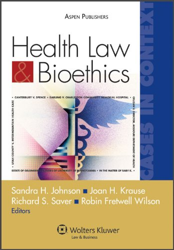 Health Law and Bioethics Cases in Context  2009 (Student Manual, Study Guide, etc.) edition cover