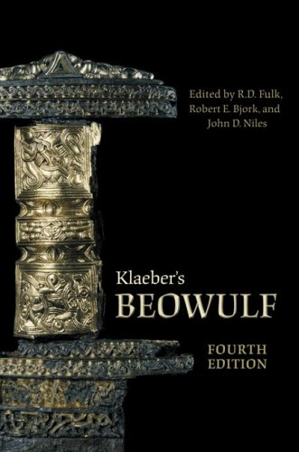 Klaeber's Beowulf  4th 2008 (Revised) edition cover
