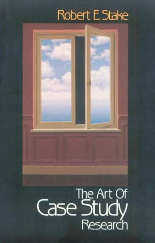 Art of Case Study Research   1995 edition cover
