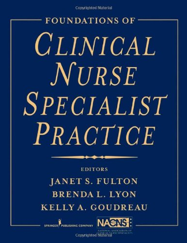 Foundations of Clinical Nurse Specialist Practice   2009 edition cover
