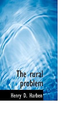 Rural Problem  N/A 9781116643671 Front Cover