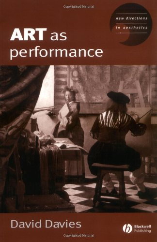 Art As Performance   2003 9781405116671 Front Cover