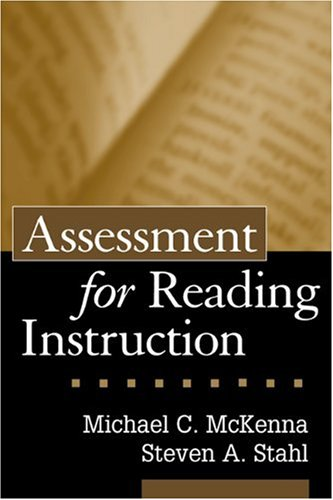 Assessment for Reading Instruction   2003 edition cover