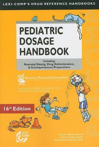 Pediatric Dosage Handbook   2009 edition cover