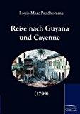 Reise nach Guyana und Cayenne (1799) N/A edition cover