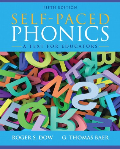 Self-Paced Phonics A Text for Educators 5th 2013 (Revised) edition cover