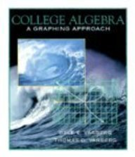 College Algebra A Graphing Approach 1st 1996 9780133815672 Front Cover