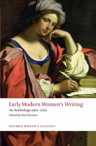 Early Modern Women's Writing An Anthology 1560-1700  2008 edition cover