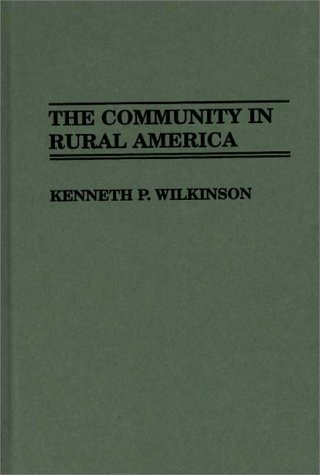 Community in Rural America   1991 edition cover