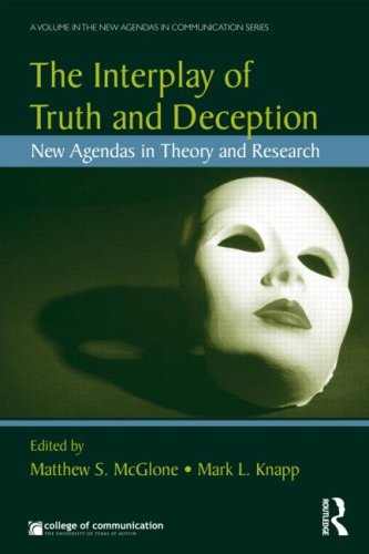 Interplay of Truth and Deception New Agendas in Theory and Research  2009 9780415995672 Front Cover