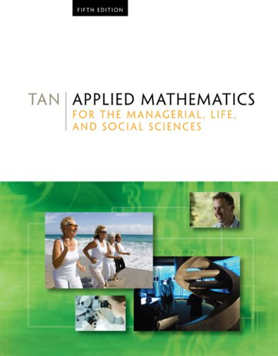 Applied Mathematics for the Managerial, Life, and Social Sciences  5th 2010 edition cover