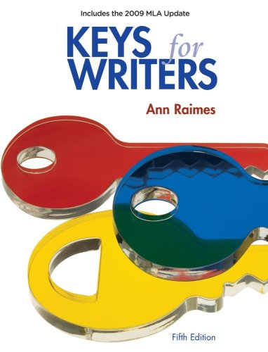 Keys for Writers 2009  5th 2008 (Revised) 9780495799672 Front Cover
