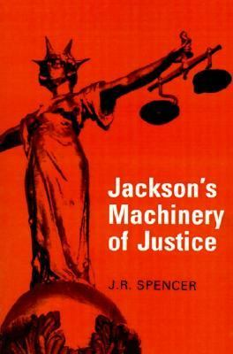 Jackson's Machinery of Justice  8th 1989 (Revised) 9780521317672 Front Cover