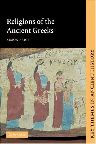 Religions of the Ancient Greeks   1999 edition cover