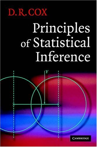 Principles of Statistical Inference   2006 9780521685672 Front Cover